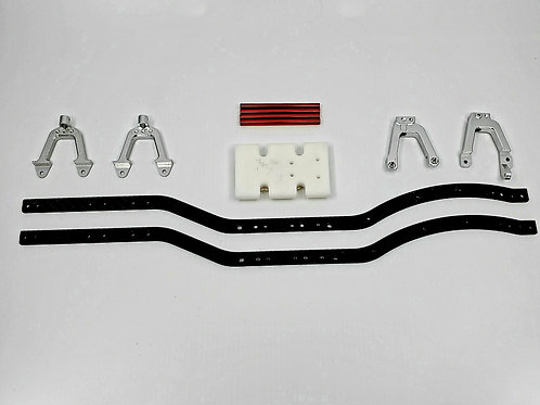 Carbon fiber scale chassis kit (used)