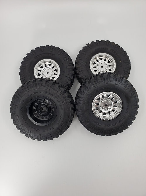 Nitto Trail Grappler skinny and rims (4)