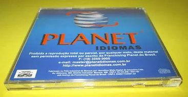 Planet Idiomas - Embalagem