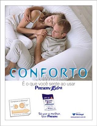 Camisinha Preserv Extra, anúncio.