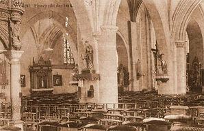Interieur van de kapel
