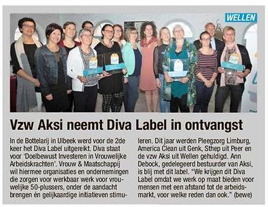 AKSI In Goednieuwskrant DIVA-LABEL 23-05