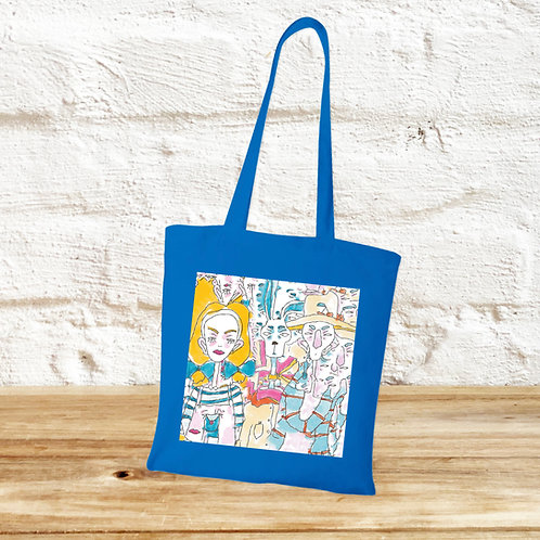 Totebag Alice in Wonderland