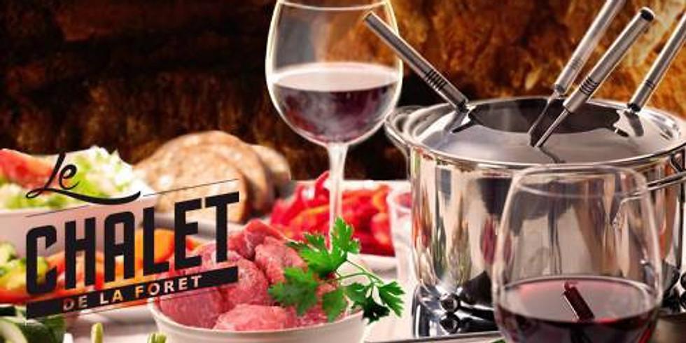 Soirées fondue bourguignonne