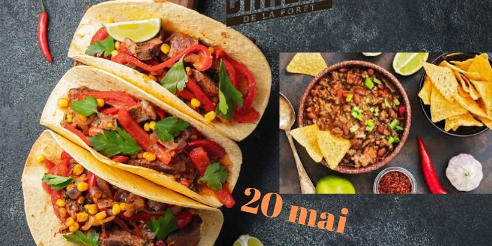 Soirée tacos à volonté - Veille de férié