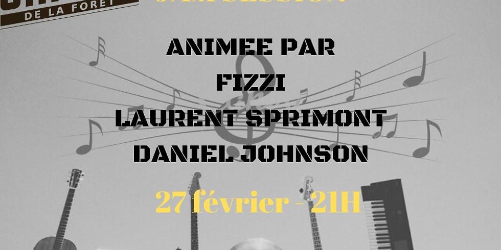 Jam Session animée par Fizzi, Laurent et Daniel