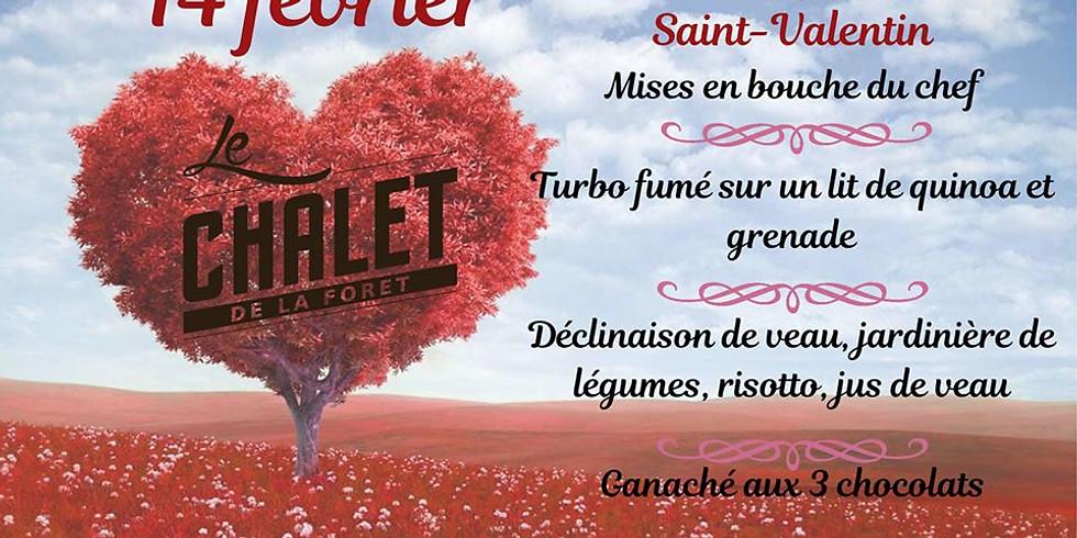Soirée spéciale Saint-Valentin