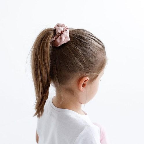 Шелковые резинки для волос разного цвета (цвета на выбор)