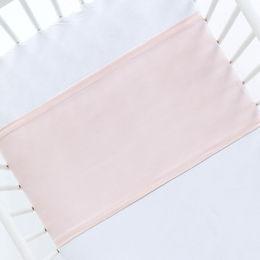 шелковая пеленка розовая