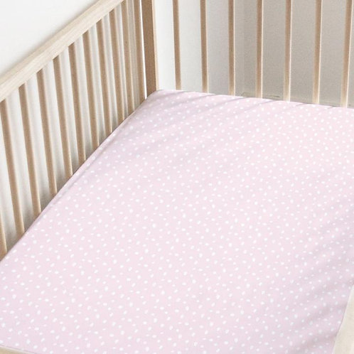 Шелковая простынка для кроватки