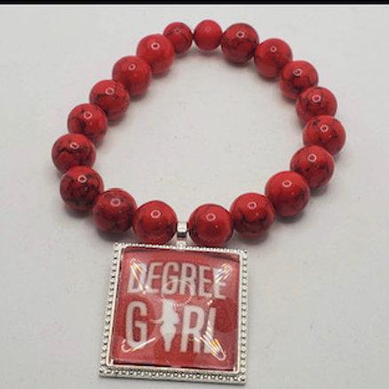 DEGREE GIRL Inspired Delta Bracelet