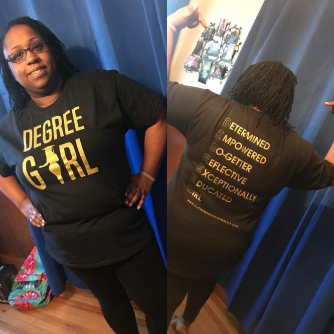 "Degree Girl ""Latoya"" 2018 Remix Shirt"