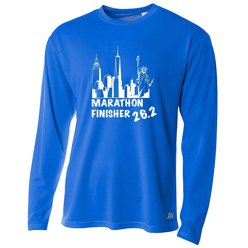 MENS DRI FIT NYC MARATHON FINISHER SHIRT