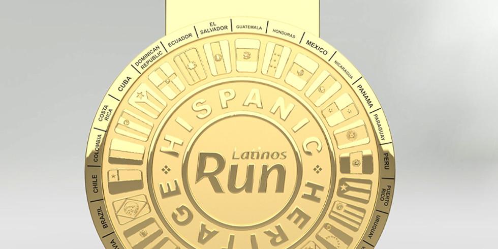 Hispanic Heritage Month Virtual Run
