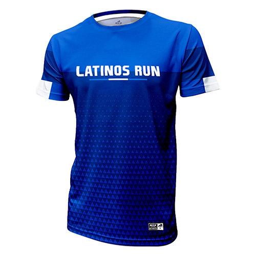 Latinos Run Mens Printed Shirt