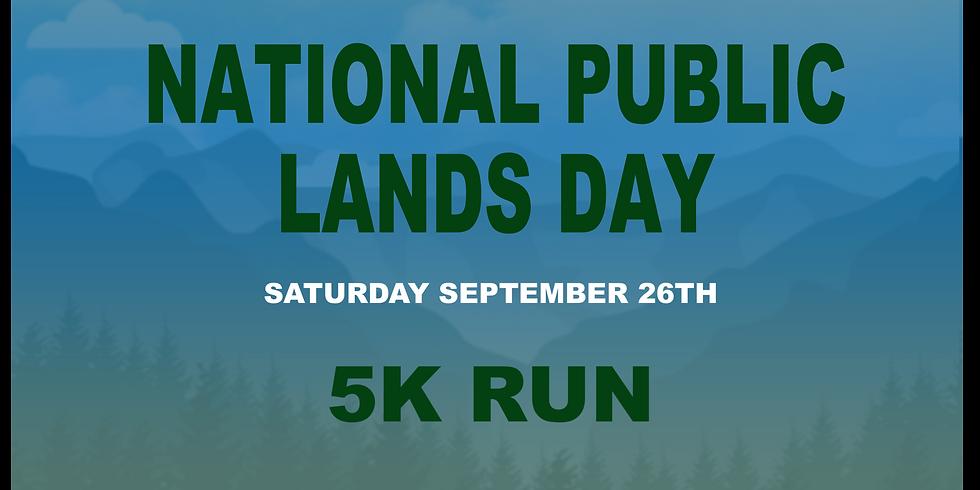 NATIONAL PUBLIC LANDS DAY 5k