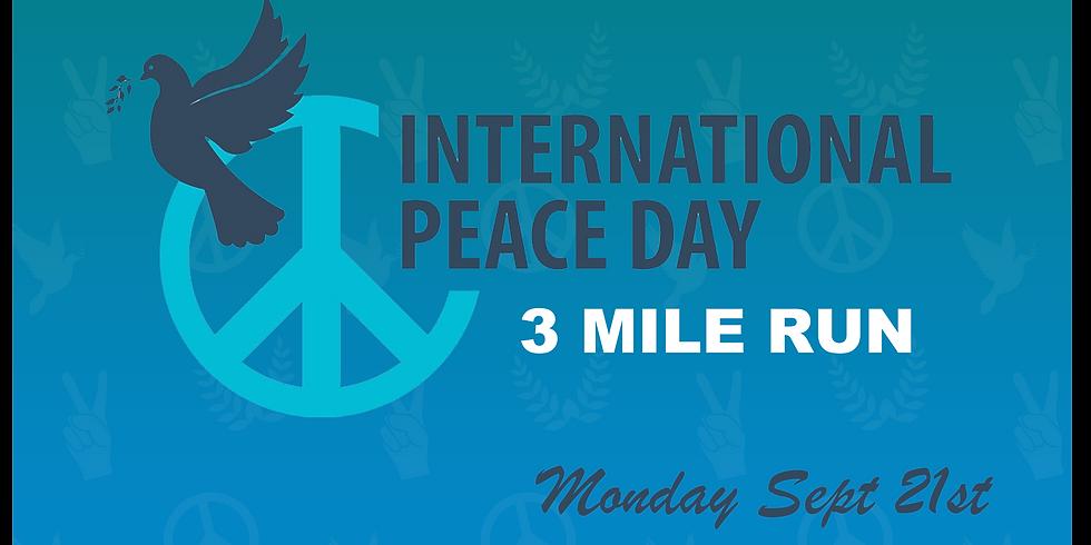 International Peace Day - Virtual Run