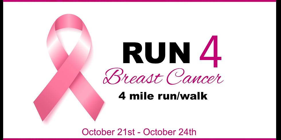 Run 4 Breast Cancer Virtual Run