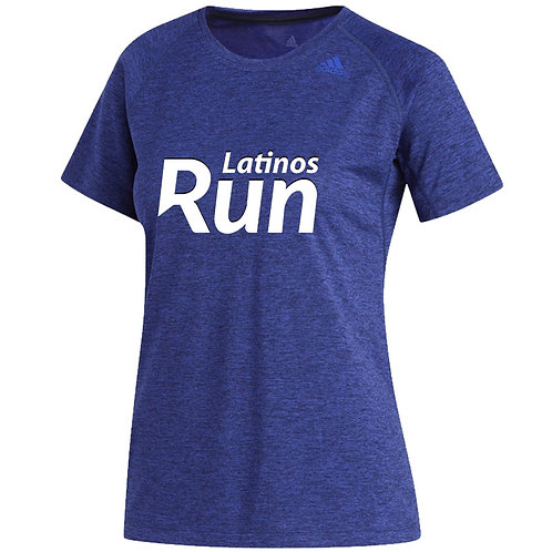 Ladies Blue Adidas Shirt