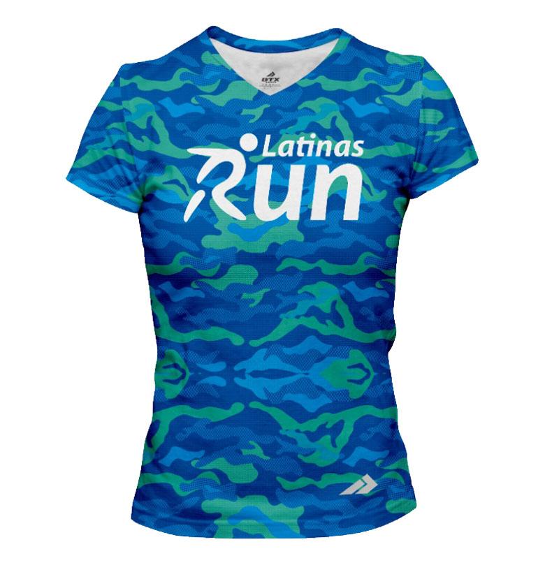 Latinas Blue Shirt