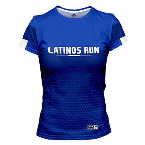 Latinos Run Ladies Printed Shirt