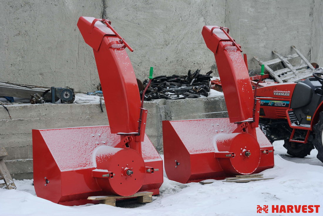 Шнекороторный снегоочиститель Снег 1250
