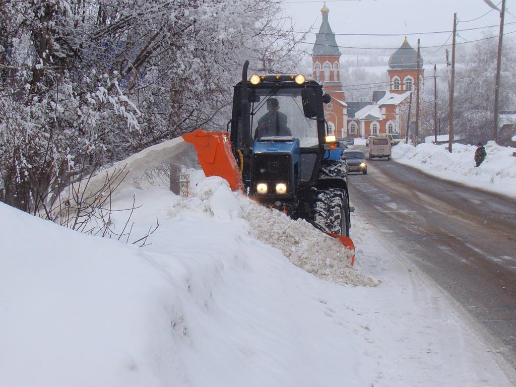 Снегоуборщик навесной Су 2.5 ОМ Чистая Работа для МТЗ 1221