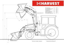 Схема погрузчика на тракторе