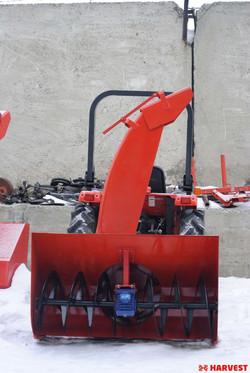 Шнекороторный снегоочиститель