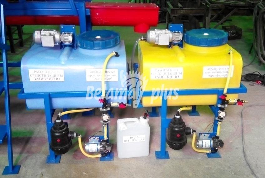 Емкость для приготовления раствора протравителя семян ПСК-15ДС