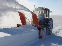 Снегоуборочная машина Су 2.5 Истребитель Снега для МТЗ 1221