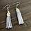 Thumbnail: Grey Learher Tassels