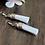 Thumbnail: White Leather Tassels