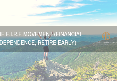 The F.I.R.E movement (Financial Independence, Retire Early)