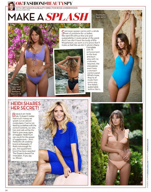 Lilliana in OK magazine!