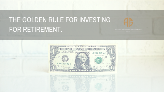 Golden Rule For Investing