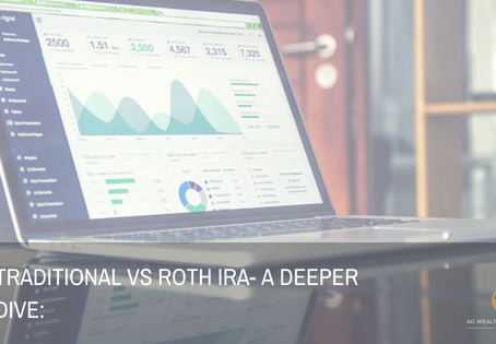 Traditional v​​s Roth IRA- A deeper dive