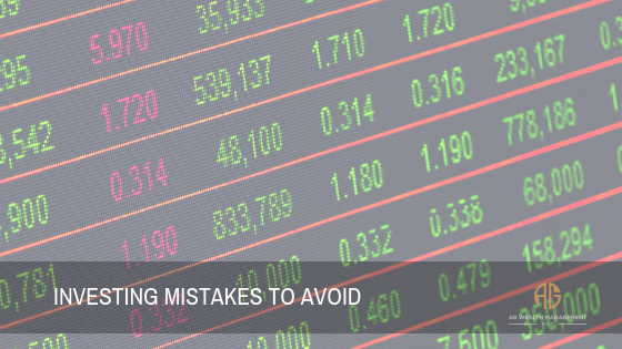 Investing Mistakes To Avoid