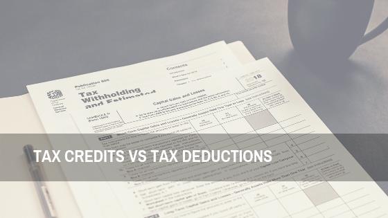 Tax Credits vs Tax Deductions