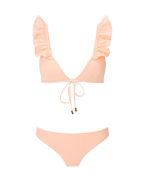 The Ruffles Bikini Top