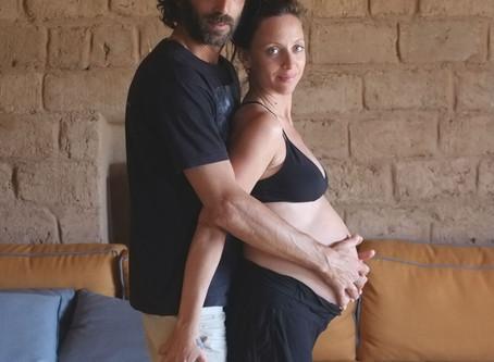 מפגש הכנה ללידה לזוגות בהנחייתה של יעל אלחנן