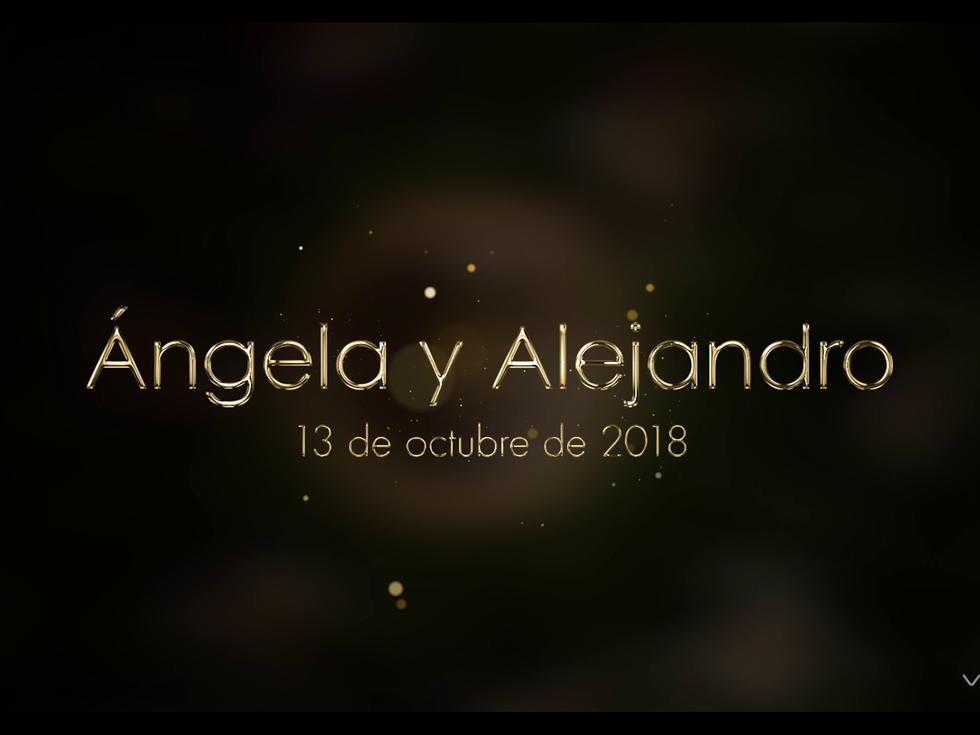 Vídeo Boda Ángela y Alex