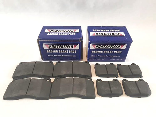 Porterfield R4s Carbon Kevlar fast road track pads