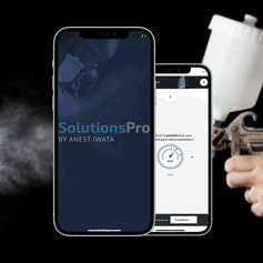Application mobile Solutions Pro by Anest Iwata