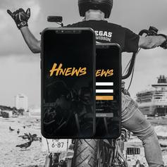Application mobile HNews