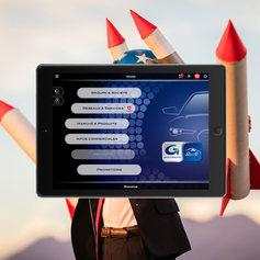 Application Tablette Groupauto VL