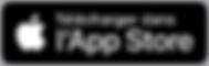 Badge pour le téléchargement sur l'apple Store