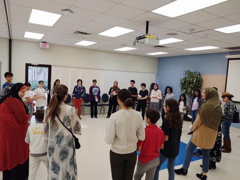 Community Theatre Workshop with Kholoud