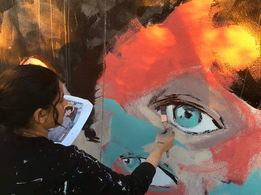Press Release: Painting Ourselves Visible – Aya Tarek 2019