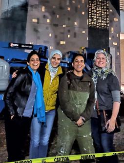 The Artists - Andrea, Kholoud, Aya, Amee